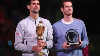 Novak Djokovic VS Andy Murray Highlight (Doha) 2017 F
