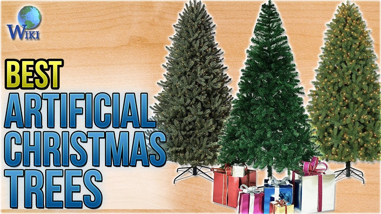 10 best artificial christmas trees 2018 - 10 Artificial Christmas Tree