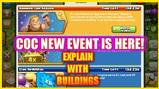 COC NEW EVENT 'HAMMER JAM' || MUST WATCH || FULLY EXPLAINED || CLASH OF CLANS || SACHIN GAMER
