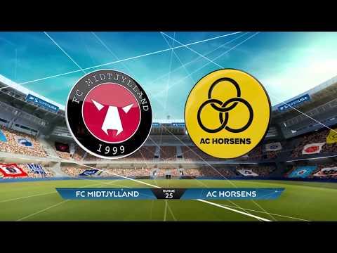 Midtjylland Horsens Goals And Highlights