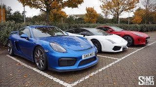 Cayman GT4 Drive to France with SupercarsofLondon and SeenthroughGlass