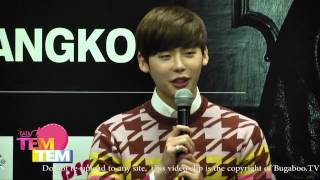 141031 Lee Jong Suk Asia Tour Fan Meeting in Thailand Press Conference 1/2