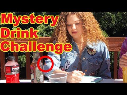 Mystery Drink Challenge! (Gracie Vs Madison Haschak)