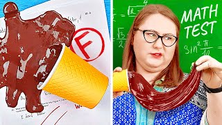 STUDENTS VS TEACHER! || Crazy School Pranks And Hacks By 123 GO Like!