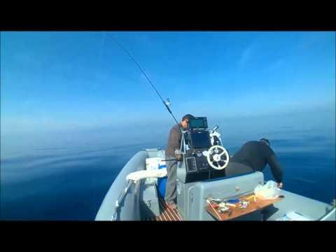 ψαρεύοντας με το CP470 της Raymarine