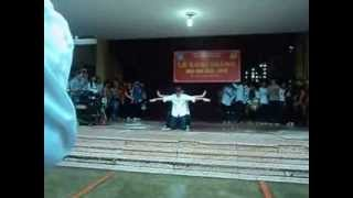 Popping Solo + Trap (cover) + Flashmob-Best Song Ever of HVT Highschool, Hà Nội