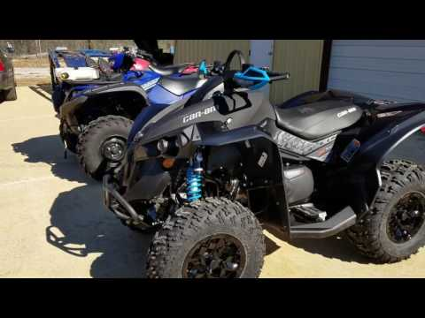 Can am renegade, Yamaha grizzly, Suzuki King quad review