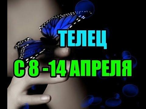 ТЕЛЕЦ/ НЕДЕЛЯ С 8-14 АПРЕЛЯ