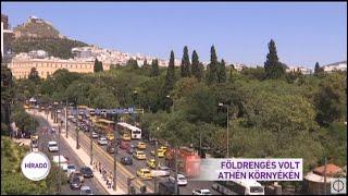 Földrengés volt Athén környékén