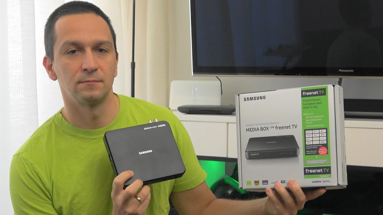 Samsung Media Box Lite Gx Mb540tl Für Dvb T2 Hd Und Freenet Tv Youtube
