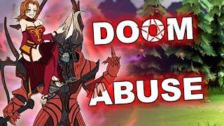 Dota 2 Tricks: DOOM Abuse!