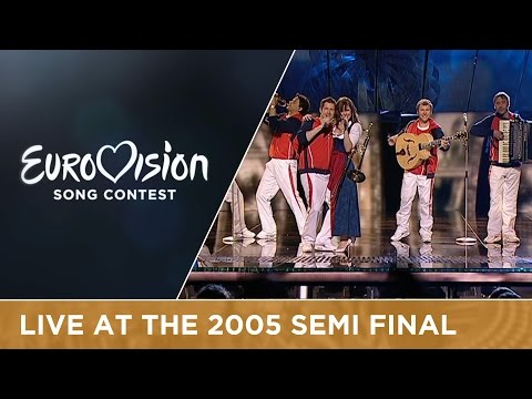 Global.Kryner - Y Así (Austria) Live - Eurovision Song Contest 2005