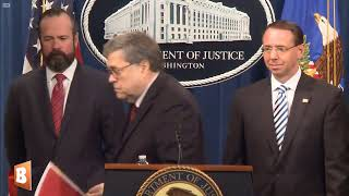 Attorney General William Barr Holds Press Conference on Mueller Report Release
