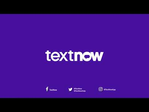 How To Create A Free TextNow Account | IOS
