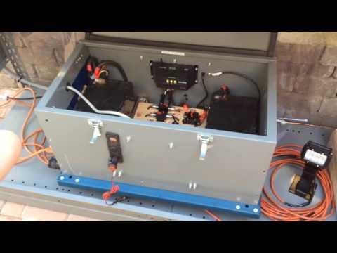DIY Solar Generator Portable # 3 what will it power