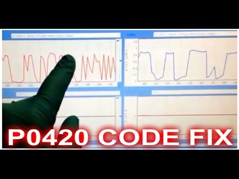 How to Fix a p0420 Catalyst System Efficiency Below Threshold Bank 1