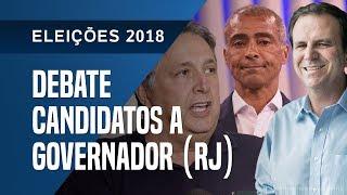 DEBATE DOS CANDIDATOS A GOVERNADOR DO RIO DE JANEIRO - 19/09