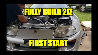 THE SUPRA FINALLY IS ALIVE/ FIRST START AFTER FULL BUILD