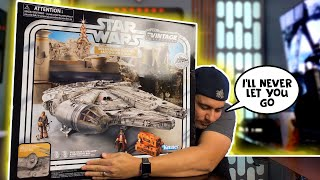 Star Wars Vintage Collection Millennium Falcon Unboxing by Hasbro!