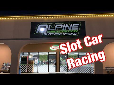 Slot Car Racing at Alpine Speedway in Helen, Ga