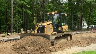 Cat D5K LGP Spreading Dirt