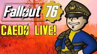 Fallout 76 B.E.T.A. (Xbox One) - Caedo LIVE! (OCT 23, 2018) TEST