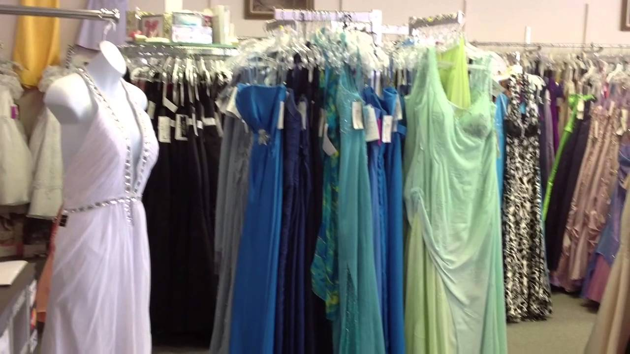 703f78f6db453 Once Again Bridal & After-Five Resale Shop - YouTube