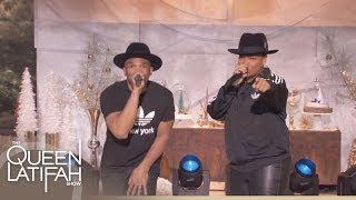 Queen Latifah and D.M.C. Perform 'Christmas in Hollis' (Full)
