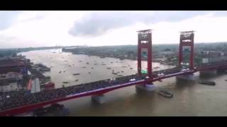 LUAR BIASA!! Video Time Lapse Gerhana Matahari Total di Palembang  - Total Solar Eclipse 9/3/2016