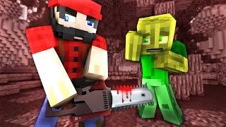 EINBRUCH beim KILLER HOLZFÄLLER?! - Minecraft EINBRUCH