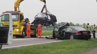 10-5-2016 - Dodelijk Ongeval op de N48 bij Ommen