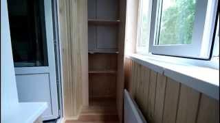 видео остекление балкона в хрущевке недорого