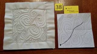 Collection of 50 Patterns for 5 1/2 Inch Quilt Blocks  Hightower Stitching