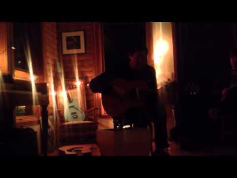 """Damien Jurado closes with """"Ohio"""" - Fuel/Friends House Show"""