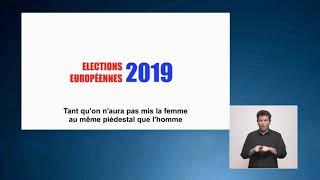 Élections européennes: deuxième vidéo de campagne de la liste démocratie représentative