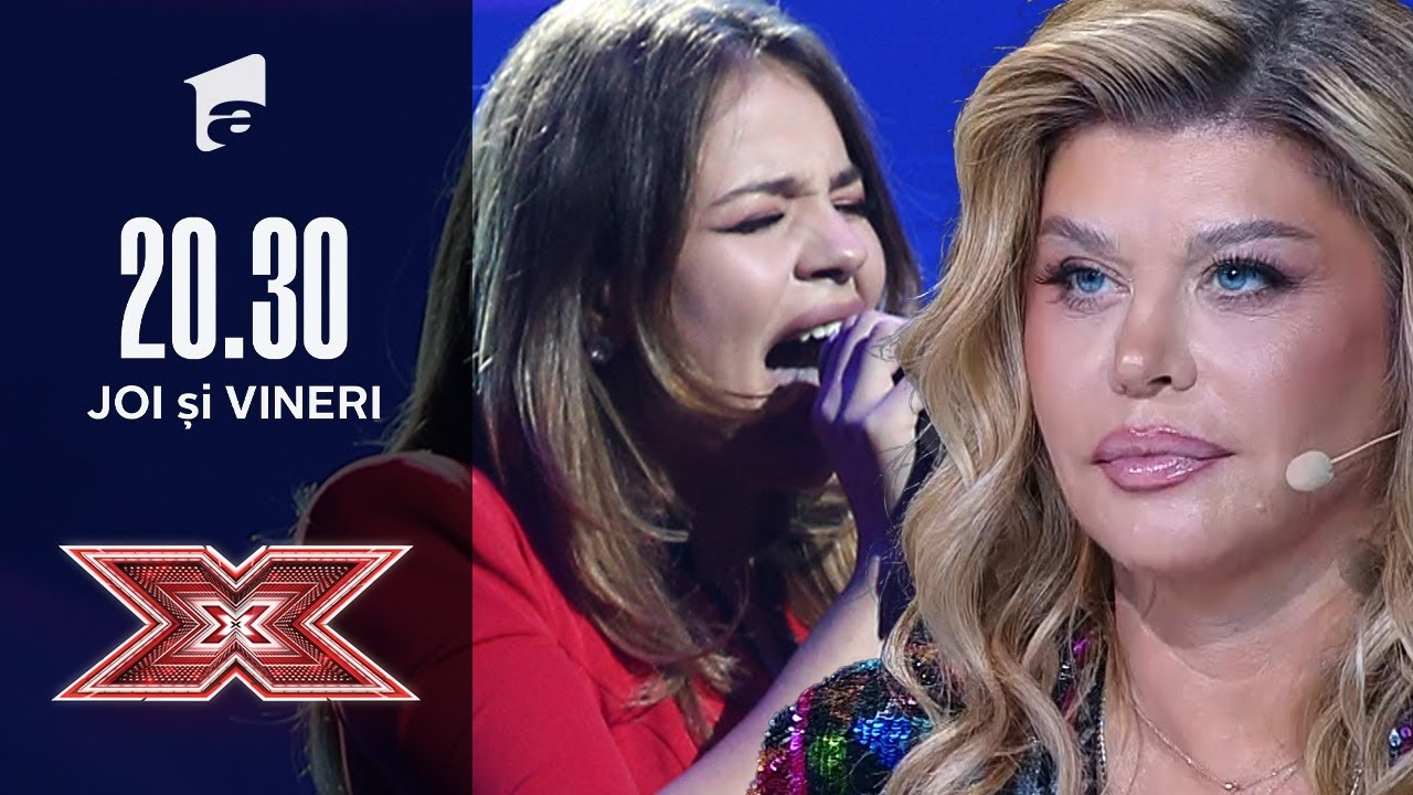 """Marina Vlad emoționează scena cu piesa """"Believe""""   Bootcamp   X Factor România 2020"""