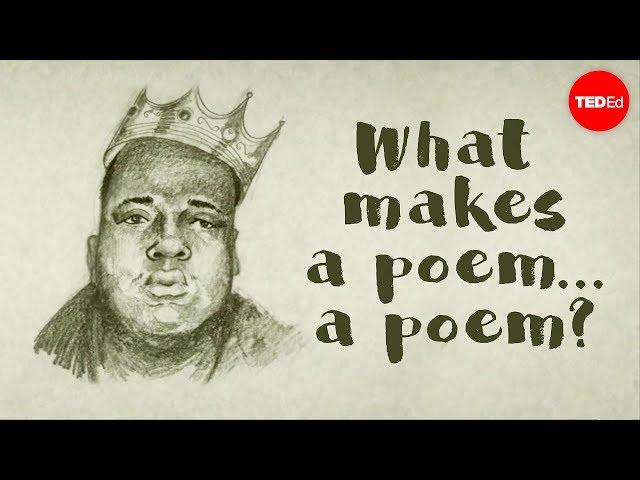 TED-EdWhat makes a poem  a poem? - Melissa Kovacs