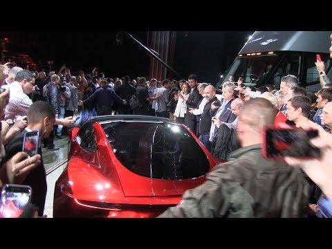 Next gen Tesla Roadster trunk and hatch door