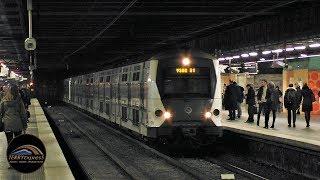 Paris trains : MI09 et MI2N du RER A à Auber