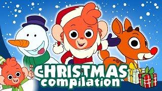 Christmas Cartoons for kids | Learn Christmas alphabet for Children | Club Baboo