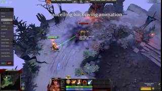 Here's some educational content: How to properly land Lina's spell combo