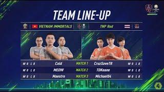 TNP Red vs Vietnam Immortals - Vòng Bảng Ngày 1 [EACC Spring 2019]