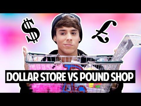 AMERICAN vs. BRITISH Dollar Store vs. Pound Shop
