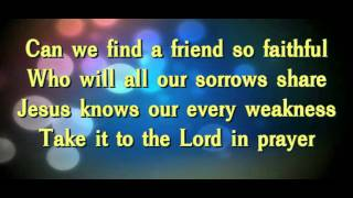 Download What a Friend We Have in Jesus(Instrumental) MP3 song and Music Video