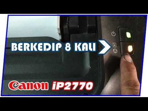 Cara Mengatasi Blink Kuning Printer Canon 2770 LANGKAH PERTAMA 1. Jika printer dalam keadaan hidup (.
