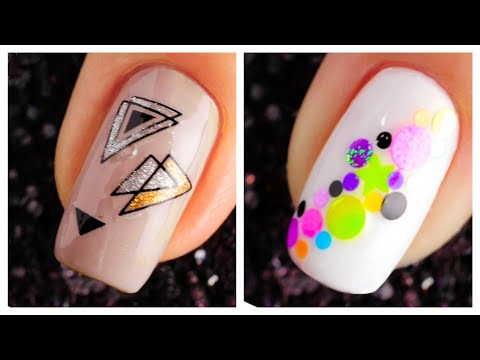 New Nail Art Design 2019 ❤️💅 Compilation   Simple Nails Art Ideas Compilation for Beginners #30 thumbnail