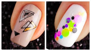 New Nail Art Design 2019 ❤️💅 Compilation | Simple Nails Art Ideas Compilation for Beginners #30