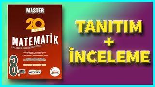 OKYANUS MASTER 20 MATEMATİK DENEMESİ İNCELEME ! (LGS)
