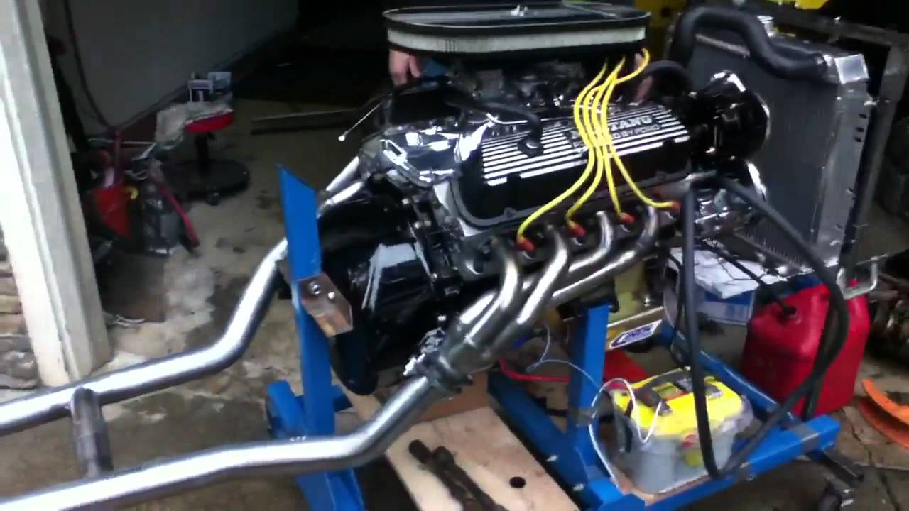 331 ford stroker motor first start up [ 1280 x 720 Pixel ]
