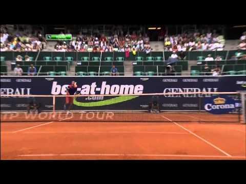 Brands vs Berlocq 1st Round  ATP 250 Kitzbuhel 2013